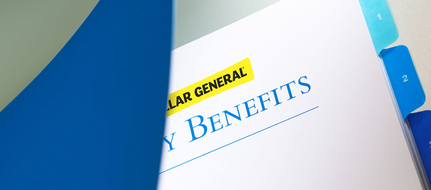 Dollar General employee benefits booklet