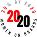 20% by 2020 - Women on Boards