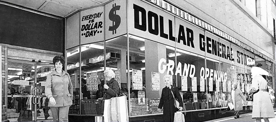 Old Dollar General storefront